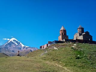 Mount Kazbek church, Republic of Georgia
